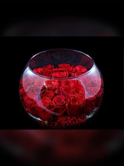 Black Magic Rose Bowl